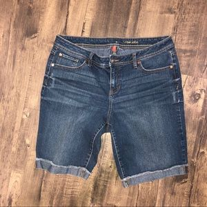 Gently used jean shorts
